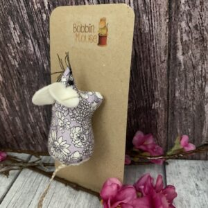 Lilac Liberty Mouse Brooch